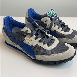 Puma Lab vintage II sneakers blue and white